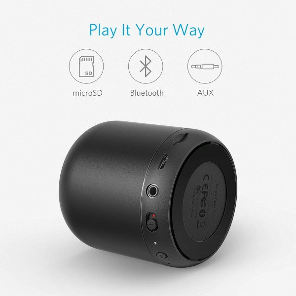 cassa bluetooth portatile anker soundcore mini connessioni